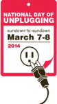 Tomorrow is the National Day of Unplugging Uncategorized