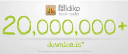 Android eBook App Aldiko Hits 20 Million Downloads e-Reading Software