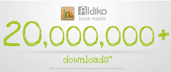 Android eBook App Aldiko Hits 20 Million Downloads | The