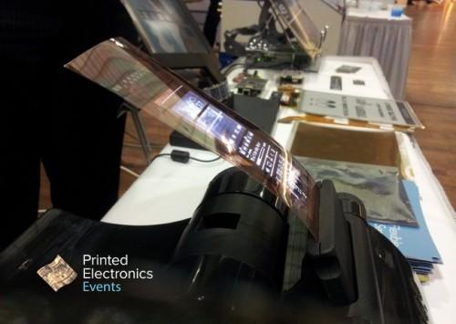 plastic logic flexible oled prototype