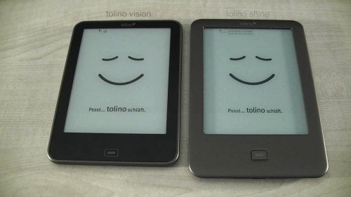 Tolino Vision eBook Reader Ships This Week - Lighter, Thinner, & with a Carta E-ink Screen e-Reading Hardware