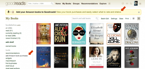 Goodreads Expands Automatic Amazon Sync to Include the UK Amazon Social Media Social reading