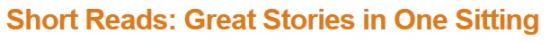 amazon kindle store short reads