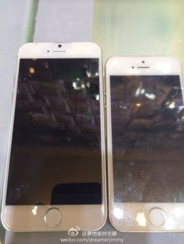 New Photos Show a Thinner and Larger iPhone 6 Apple e-Reading Hardware