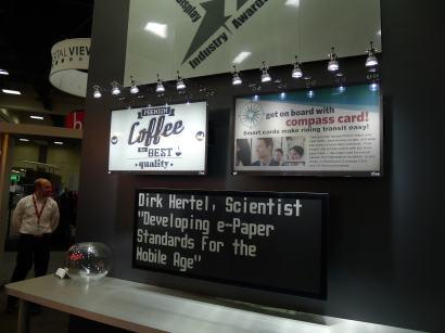 """E-ink Debuts a 32"""" Color E-ink Screen Conferences & Trade shows E-ink Screen Tech"""