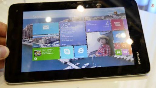 Toshiba Encore 7 Tablet - Windows 8, $149 e-Reading Hardware Microsoft Windows