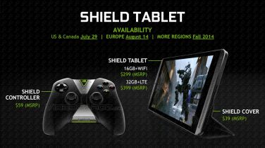 New Leaks Show Nvidia Shield Tablet Ships on 29 July, Will Cost $299 and Up e-Reading Hardware