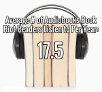Book Riot's Great Audiobook Survey Reveals Listening Habits Radically Different from Reading Habits Audiobook surveys & polls