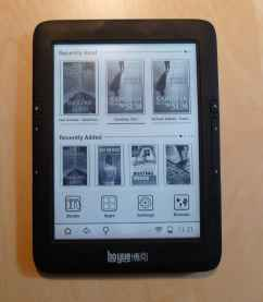 Review: Icarus Illumina HD E653 (Boyue T61) Android eReader Reviews