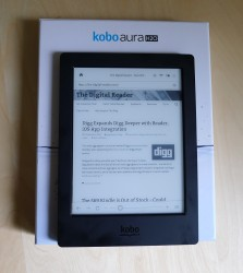 Kobo Aura One to be Replaced by the Kobo Aura H2O Edition 2? e-Reading Hardware Kobo
