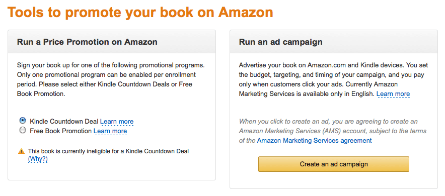 Amazon Is Now Pitching Advertising To Kdp Select Members The