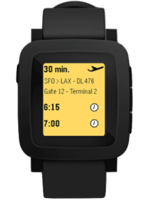 Leaked Image Reveals Pebble Smartwatch w\Color Screen e-Reading Hardware Screen Tech
