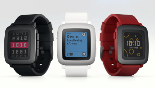 Pebble Time Smartwatch Launches on Kickstarter, Adds a Color LCD Screen e-Reading Hardware