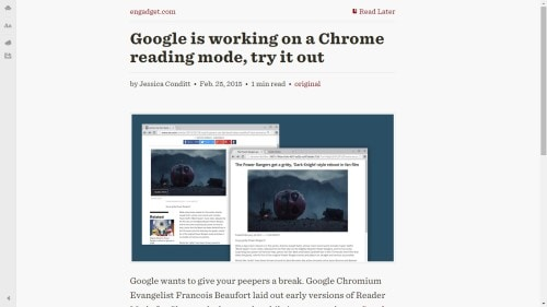 readability distraction-free