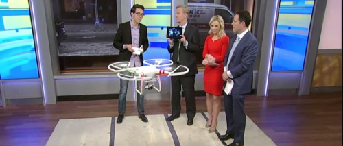 Reporter Proves Drones Are Dangerous - By Crashing it Into a Cameraman on Live TV (video) e-Reading Hardware