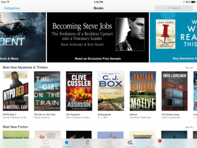 Apple Throws Support Behind Steve Jobs Biography, Offers Exclusive iBooks Preview Apple eBookstore iBooks Publishing