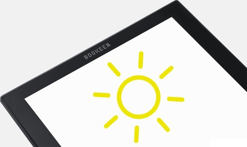 Booken solar powered ereader