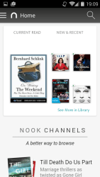 Hands On: Nook for Android 4.0 Adds Movies, Enhanced eBooks Barnes & Noble e-Reading Software