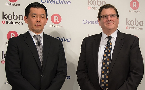 Rakuten Buys OverDrive for $410 Million (More Than it Paid for Kobo) Library eBooks Overdrive