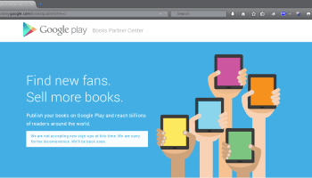 Google Is Now Accepting Indie Authors into Play Books