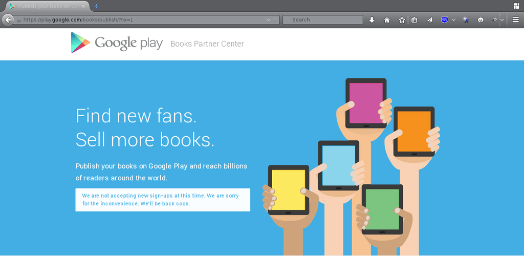 Google Is Now Accepting Indie Authors into Play Books (Sometimes