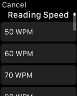 Wear Reader Lets You Speed Read eBooks on the iWatch e-Reading Software