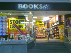 On Bookstores Going the Way of Video Stores Bookstore