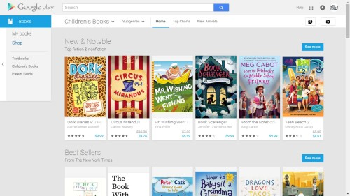 The Family Friendly Section of Google Play Books is Now Live eBookstore Google