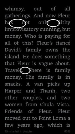 kindle typography fail