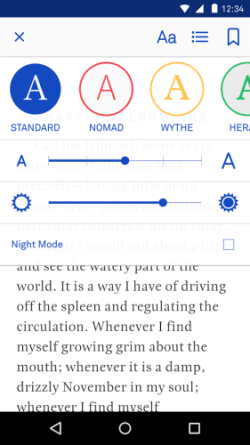 Oyster for iOS, Android Updated With New Color Filter Option e-Reading Software Streaming eBooks