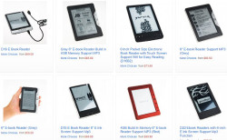 There's a Surprising Number of Obscure eBook Readers Turning up on Amazon e-Reading Hardware
