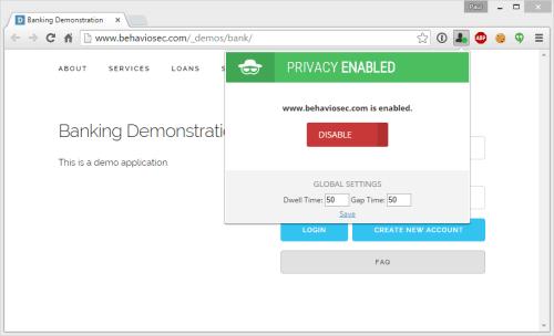 keyboard privacy