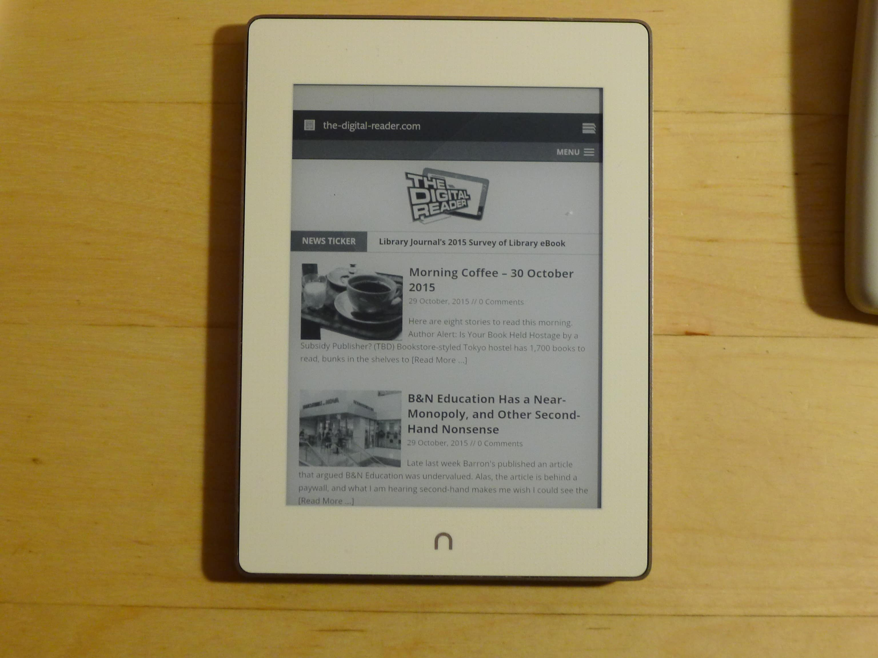 How to Find the Hidden Browser on the Nook Glowlight Plus