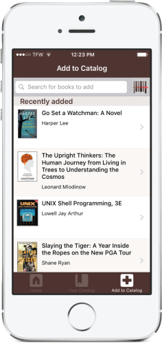 LibraryThing Launches an iPhone App e-Reading Software