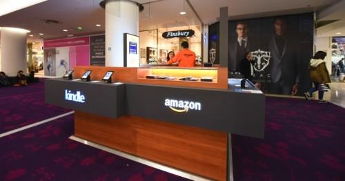 Amazon Opens Two Kiosks in Paris Amazon Retail