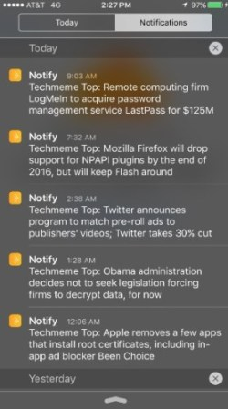 Facebook to Launch Notify News App as Early as Next Week Web Publishing