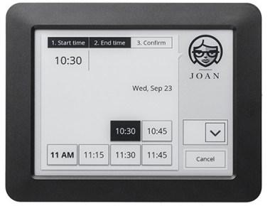 Joan is an E-ink Smart Sign E-ink Tech