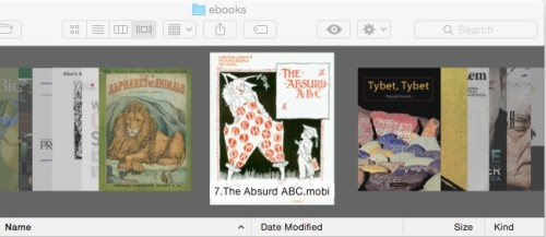 How to View Epub, Kindle eBooks in OSX Quick Look calibre ebook tools Tips and Tricks