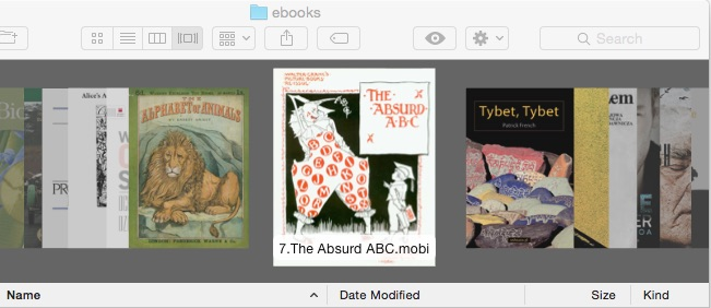 How to View Epub, Kindle eBooks in OSX Quick Look | The