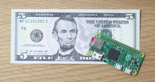 Pi Zero is a $5 DIY Computer, and Yes It Really Can be Had for Five Dollars e-Reading Hardware