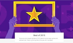 best of 2015 google play