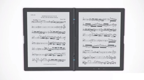 "NotesNote Wants to Change How You Read With Its Dual-Screen 13.3"" eReader e-Reading Hardware"