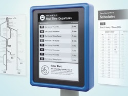 New E-ink Bus Signs Launching This Week in Las Vegas E-ink