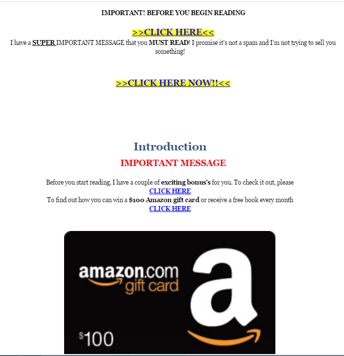 Amazon Comments on TOC Crackdown, Inadvertently Confirms
