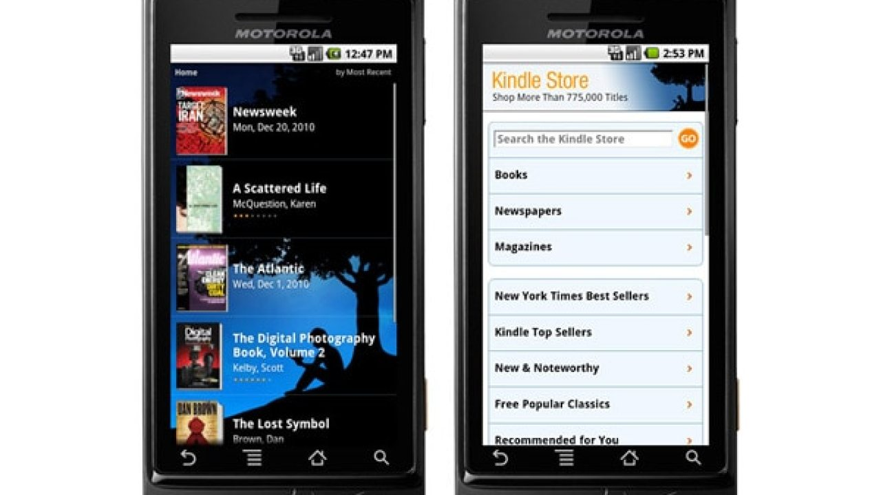 Kindle for Android Update v4 22 Adds Flash Cards, Export Option for