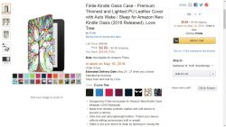 First 3rd-Party Kindle Oasis Cases Scheduled for May Release, e-Reading Hardware Kindle