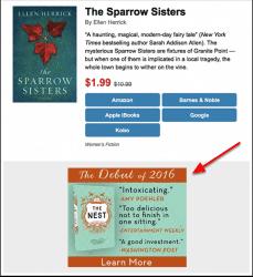 bookbub-ads-example-the-nest
