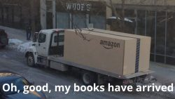 Books Delivered in an Hour, in London? Bookstore