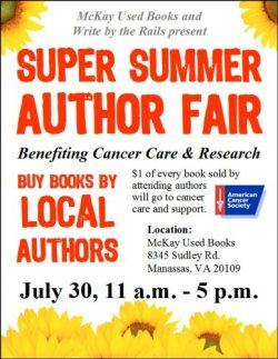 Virginia Authors Unite to Sell Books and Support a Cancer Charity Book Culture