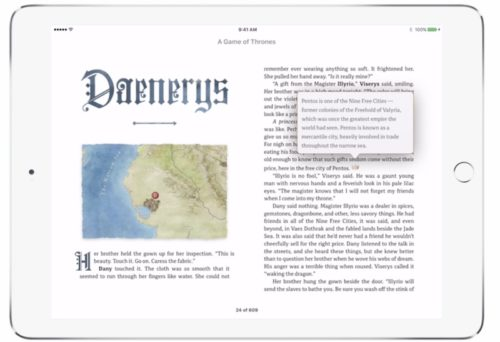 Penguin Random House Releases Game of Thrones Enhanced Edition Publishing